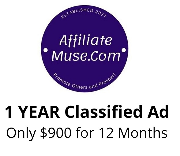 Classified Ad for 12 Months